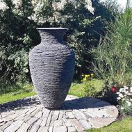 Blue Slate Vase