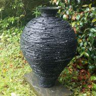 Slate-vase